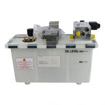 Hydrauliek aggregaat 1,5kW, swinglip 100kN, 2 ventielen