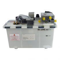 Hydrauliek aggregaat 1,5kW, telelip, 2 ventielen