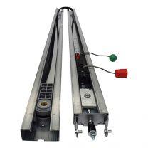 Marantec SZ-13-SL 2-delige rail met tandriem
