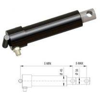 Lipcilinder dock leveller Ø30 E-Min=230, E-Max =330mm