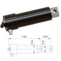 Lipcilinder dock leveller Ø45 E-Min=230, E-Max =330mm