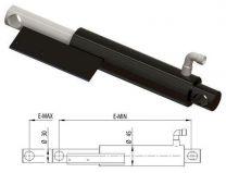 Lipcilinder dock leveller Ø30 E-Min=290, E-Max =390mm