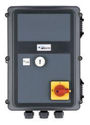 MFZ RS200 Universele dockleveller-besturing, voor docklevellers met scharnierende klep, zonder autoreturn-functie