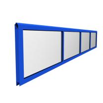 Volglaspaneel industrieel gecoat 5000x610mm/4 velden